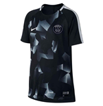 2017-2018 PSG Nike Pre-Match Training Shirt (Black) - Kids