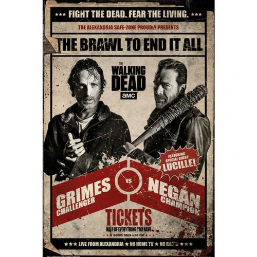 The Walking Dead Poster Fight 243