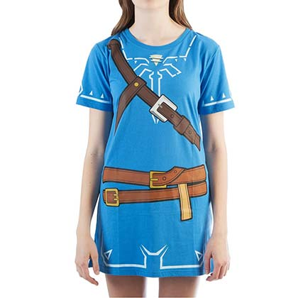 The LEGEND OF ZELDA Breath Of The Wild Ladies Tunic Costume Dress