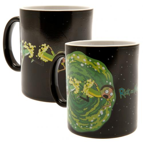 Rick And Morty Heat Changing Mug