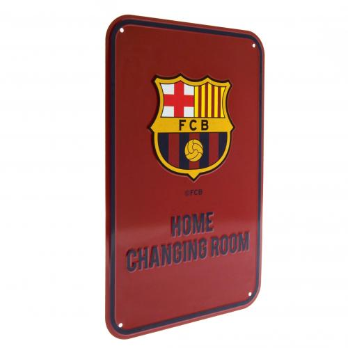 F.C. Barcelona Home Changing Room Sign