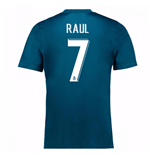 2017-18 Real Madrid Third Shirt (Raul 7)