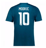 2017-18 Real Madrid Third Shirt (Modric 10)