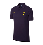 2017-2018 Tottenham Nike Authentic Grand Slam Polo Shirt (Purple)