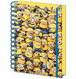 Despicable Me - Many Minions 3D Cover A5 Notebook