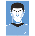Star Trek Poster - Pop Spock - 50Th Anniversary - 61X91,5 Cm
