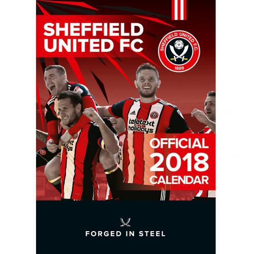 Sheffield United F.C. Calendar 2018