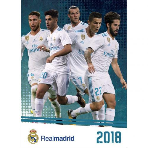 Real Madrid F.C. Calendar 2018