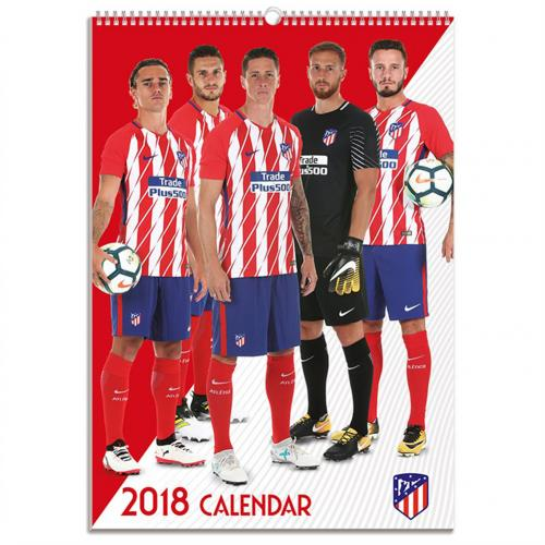 Athletico Madrid F.C. Calendar 2018