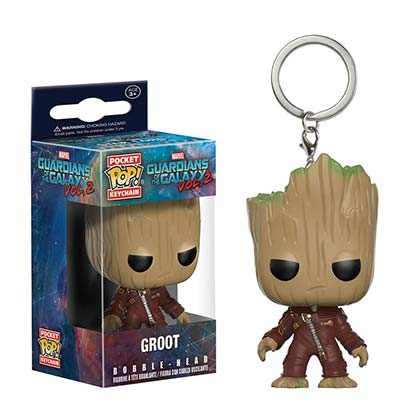 GUARDIANS OF THE GALAXY Groot Funko Pop Keychain