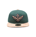 Zelda - Cork Triforce Logo and Cork Bill Snapback