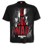 All Out War - Walking Dead T-Shirt Black