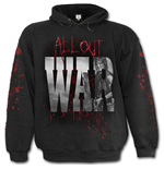 All Out War - Walking Dead Hoody Black