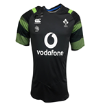 2017-2018 Ireland Rugby Vapordri Poly Graphic Tee (Asphalt)