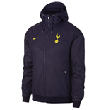 2017-2018 Tottenham Nike Authentic Windrunner Jacket (Purple)