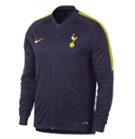 2017-2018 Tottenham Nike Squad Knit Track Jacket (Purple)