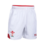 2018-2019 Wales Rugby Home WRU Supporters Shorts (White) - Kids