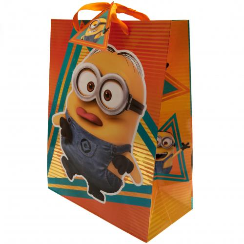 Despicable Me 3 Minion Gift Bag Medium