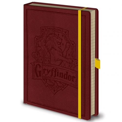 Harry Potter Premium Notebook Gryffindor