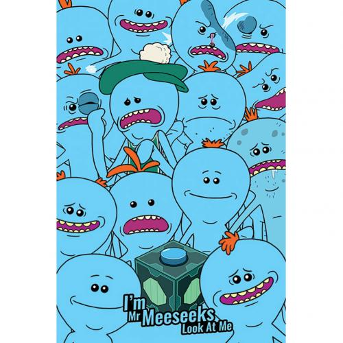 Rick And Morty Poster Mr Meeseeks 267