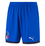2018-2019 Italy Puma Home Shorts (Blue) - Kids