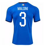 2018-19 Italy Home Shirt (Maldini 3)