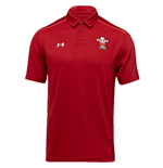 2018-2019 Wales Rugby WRU Team Polo Shirt (Red)