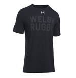 2018-2019 Wales Rugby WRU Graphic Tee (Black)