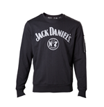 Jack Daniel's - Mens Sweater chenille print and sleeve pocket