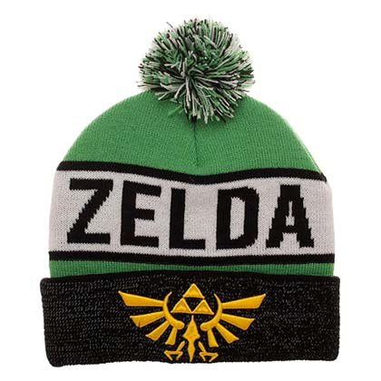 LEGEND OF ZELDA Reflective Winter Pom Beanie