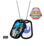 Star Wars Dog Tag Necklace 280318