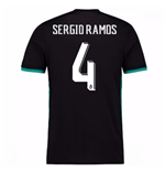 2017-18 Real Madrid Away Shirt (Sergio Ramos 4)