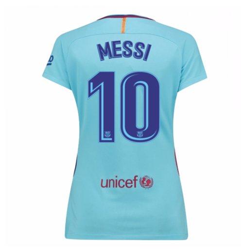 super popular 09ff7 6aca9 2017-2018 Barcelona Womens Away Shirt (Messi 10)