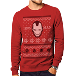 Iron Man - Im Fair Isle - Unisex Crewneck Sweatshirt Red