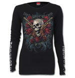 Lord Have Mercy - Buckle Cuff Long Sleeve Top