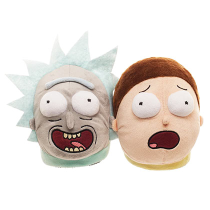 Rick and Morty Screaming Slippers