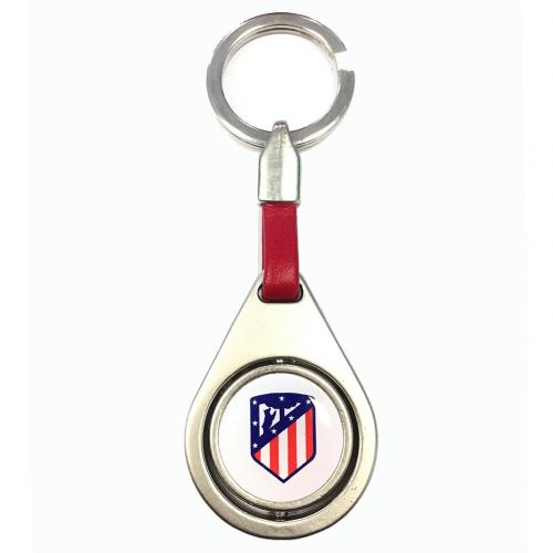 Atletico Madrid F.C. Spinner Keyring