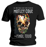 Motley Crue Men's Tee: Admat Final Tour