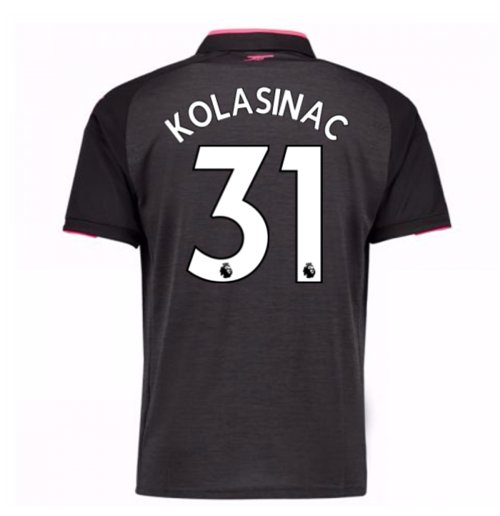 2017-18 Arsenal Third Shirt (Kolasinac 31) - Kids