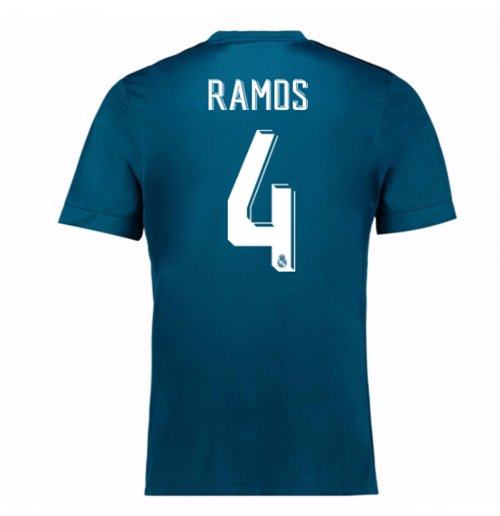 2017-18 Real Madrid Third Shirt (Ramos 4)