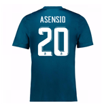 2017-18 Real Madrid Third Shirt (Asensio 20)