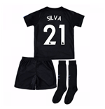 2017-18 Man City Third Mini Kit (Silva 21)
