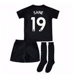 2017-18 Man City Third Mini Kit (Sane 19)