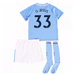 2017-18 Man City Mini Kit (G Jesus 33)