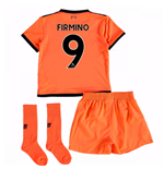 2017-18 Liverpool Third Mini Kit (Firmino 9)