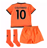 2017-18 Liverpool Third Mini Kit (Coutinho 10)