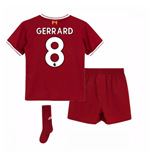 2017-18 Liverpool Home Mini Kit (Gerrard 8)