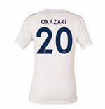 2017-18 Leicester City Third Shirt (Okazaki 20) - Kids