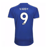 2017-18 Leicester City Home Shirt (Vardy 9)