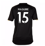 2017-18 Leicester City Away Shirt (Maguire 15) - Kids